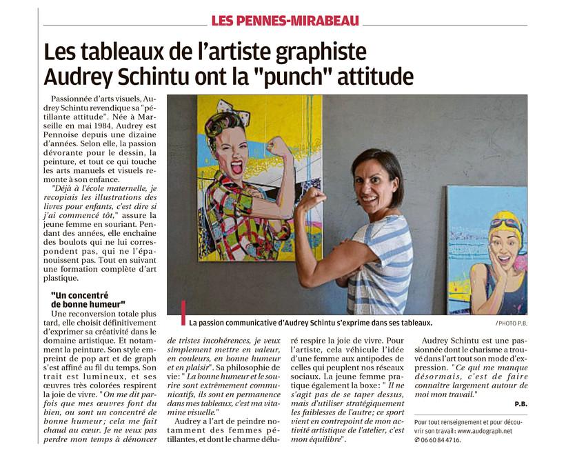 Article du journal La Provence Marseille