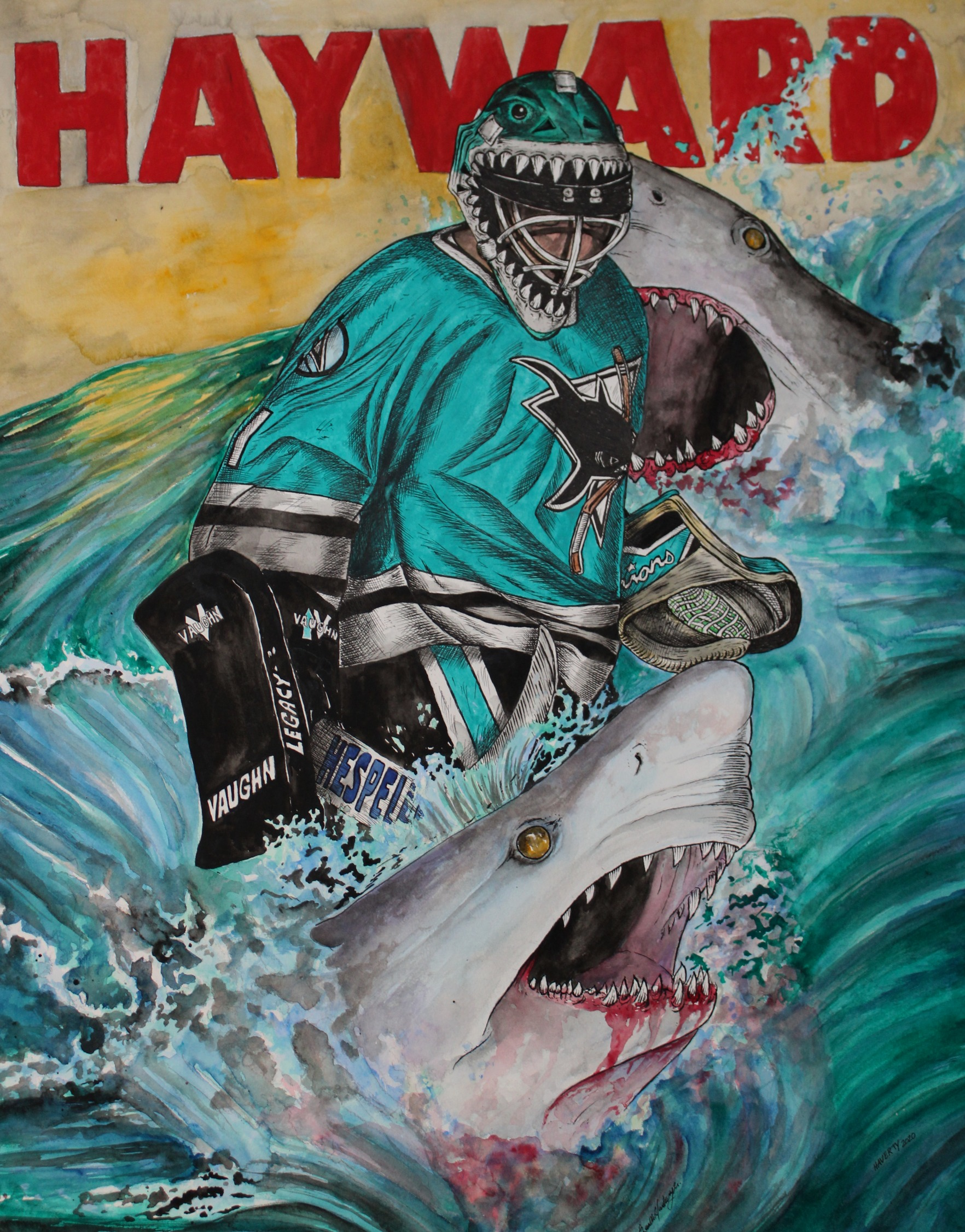 Brian Hayward ; San Jose Sharks
