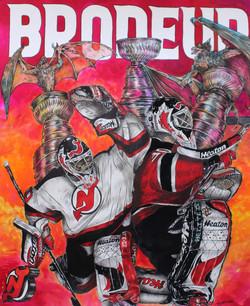 Martin Brodeur ; New Jersey Devils