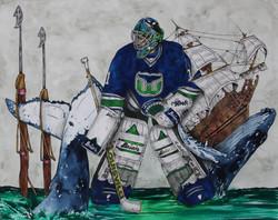 Sean Burke ; Hartford Whalers