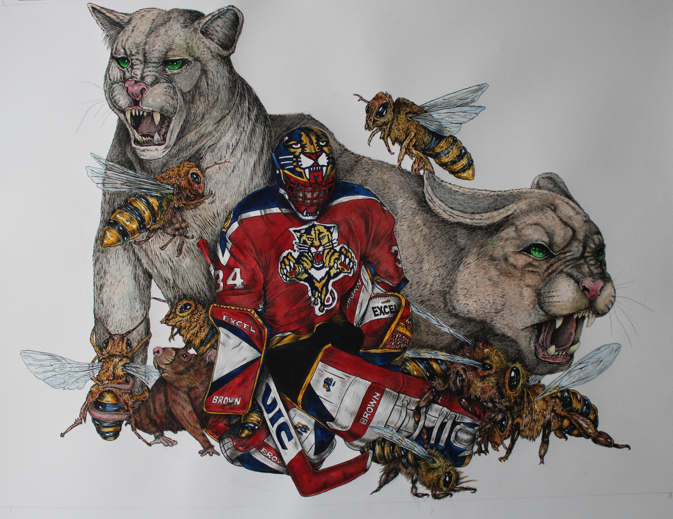 John Vanbiesbrouck ; Florida Panthers