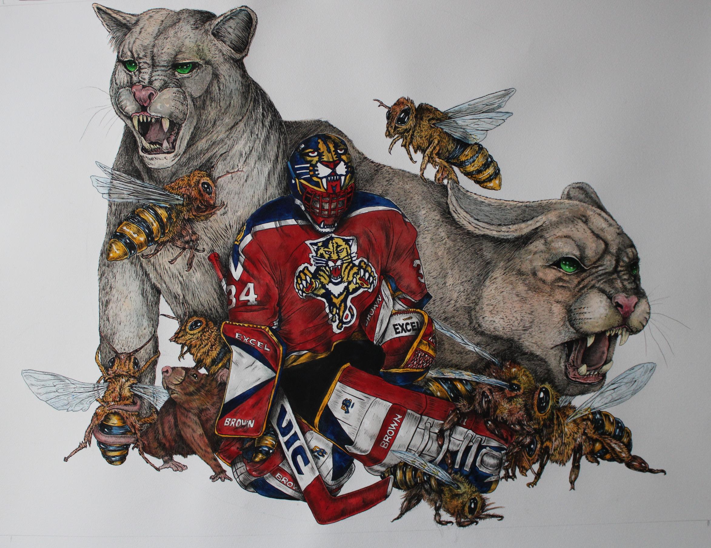 John Vanbiesbrouck ; Florida Panthers