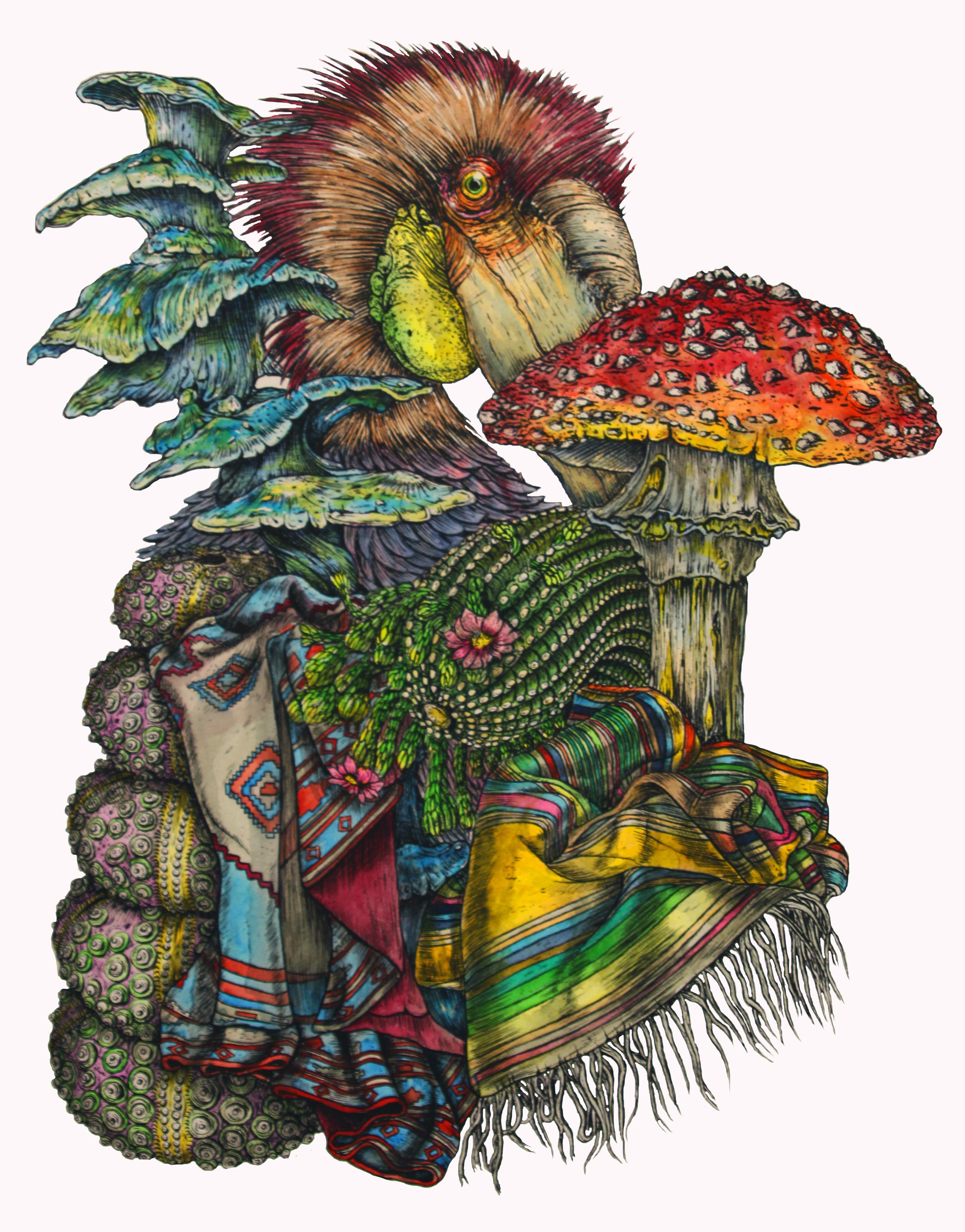 Fungi Bird II