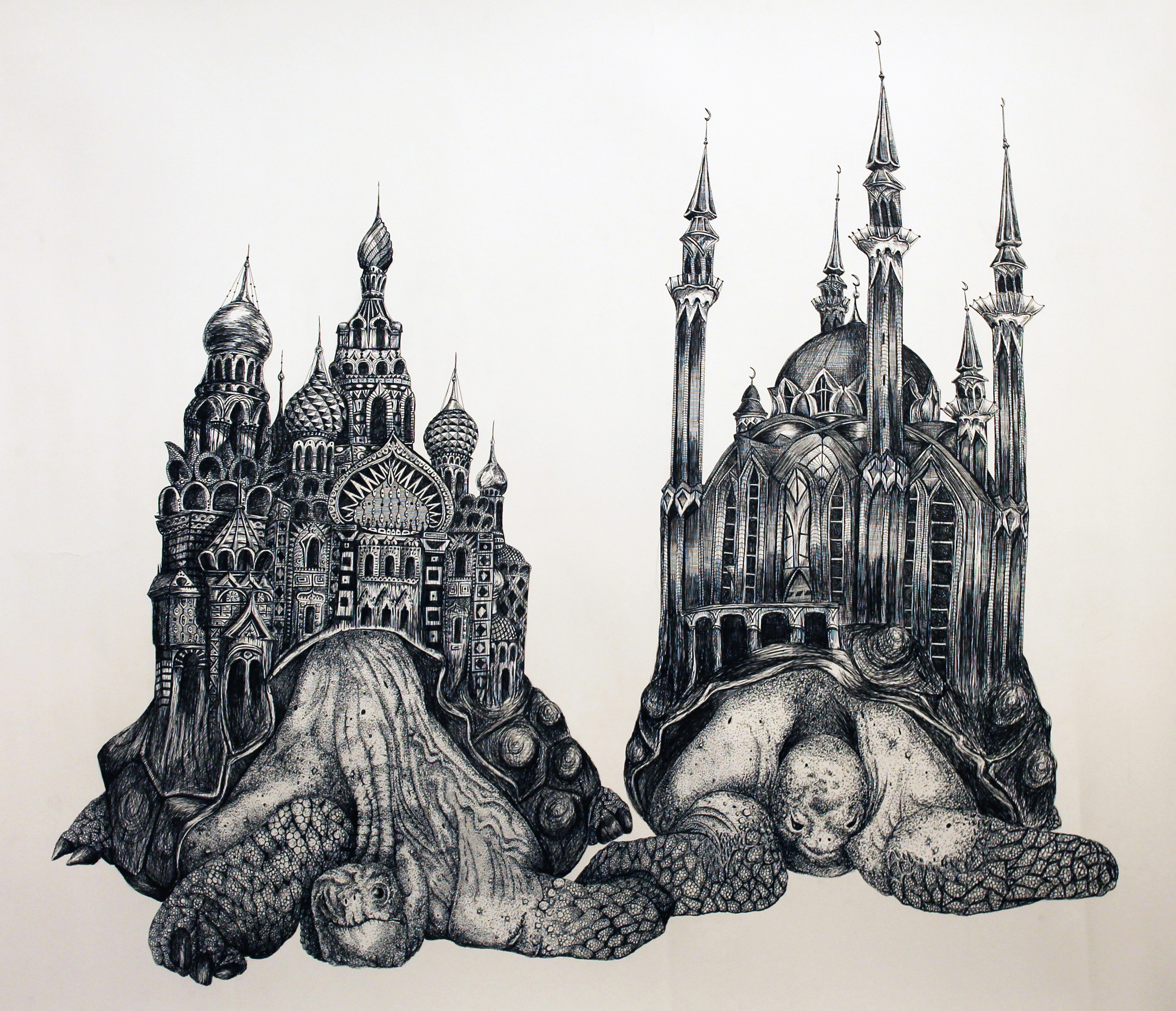 Clash Of Kings Civilization: Ink Drawings By John Haverty