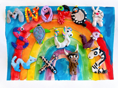 Why Your Kids Should Try Our Alphabet & Art Classes! - LAB Art Studio
