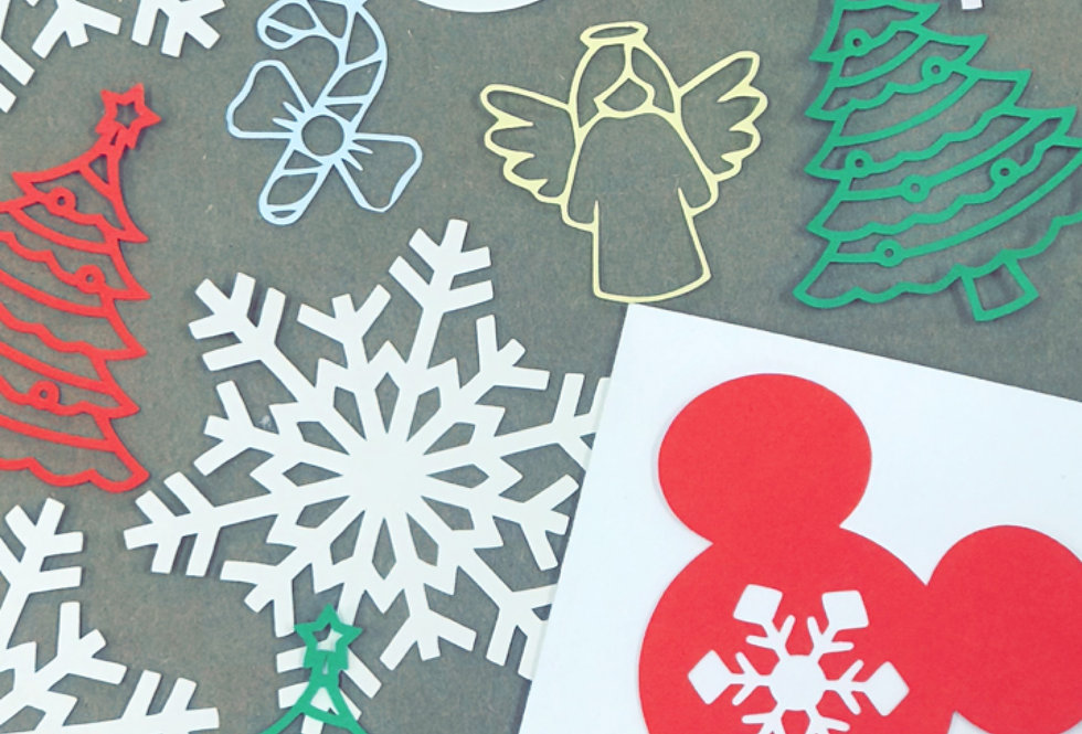 Card Paper Cut Outs