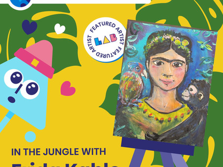In the Jungle with Frida Kahlo - LAB Art Studio