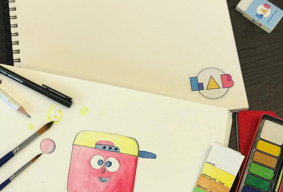 Watercolour Artbook