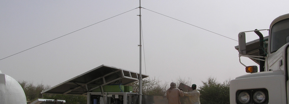 solar powered watermakers by Trunz for remote villages