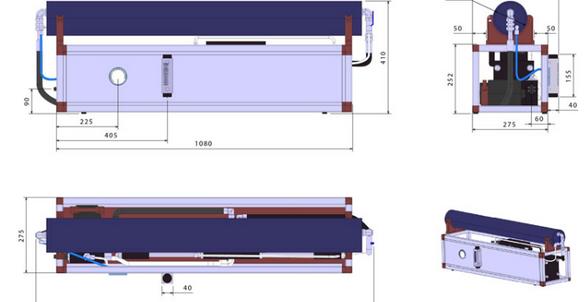 Schenker marine watermaker Modular 150ltr per hour