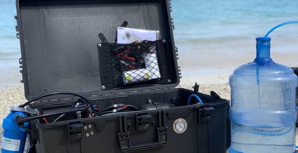 portable schenker unit AquaTrek 50 litres per hour