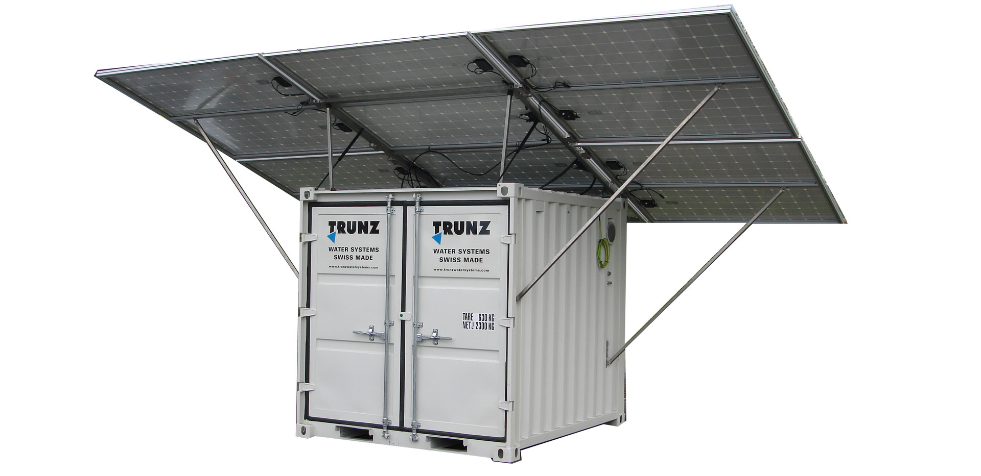 Trunz the best watermakers for disaster relief & remote communities
