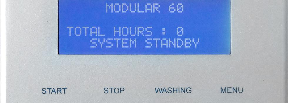 Schenker Modular water maker 300litres per hour digital remote panel