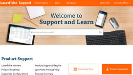 New Laserfiche Support and Learn