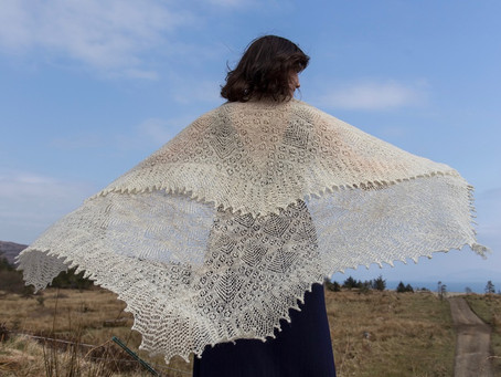 Meeting with a Scottland Based Eco-Conscious Knitwear Designer Jenny Robertson.