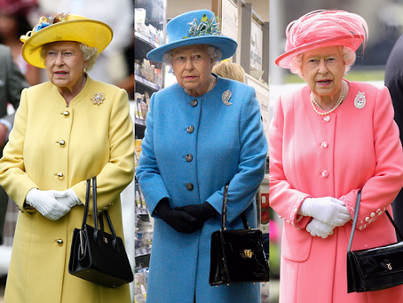 Royal Ladies shaping fashion: Queen Elizabeth and Lady Di's iconic accessories.
