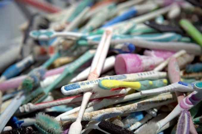 plastic toothbrush waste