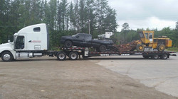 Ronnie D. loaded down