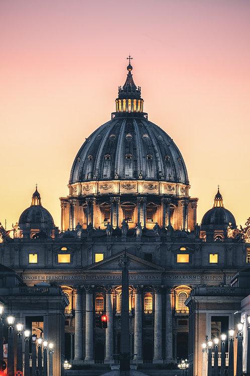 Europa - Kuppel des Petersdoms