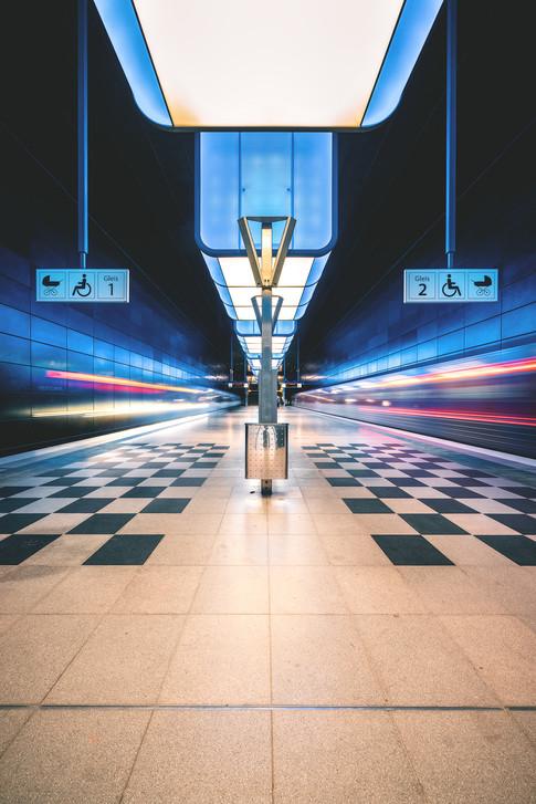 Hamburg - Station HafenCity Universität