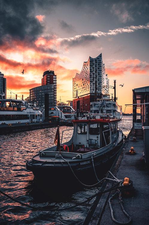 Motiv 12 - Farbexplosion im Hafen