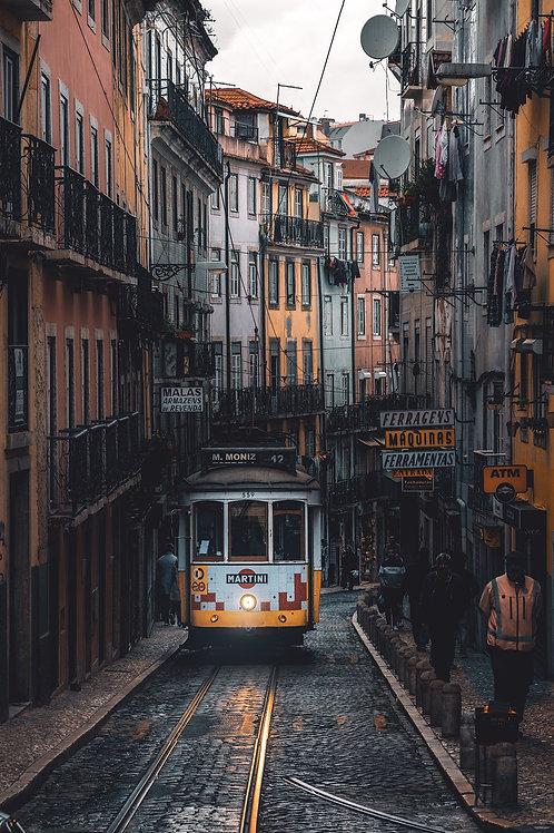 Europa - Straßen von Lissabon