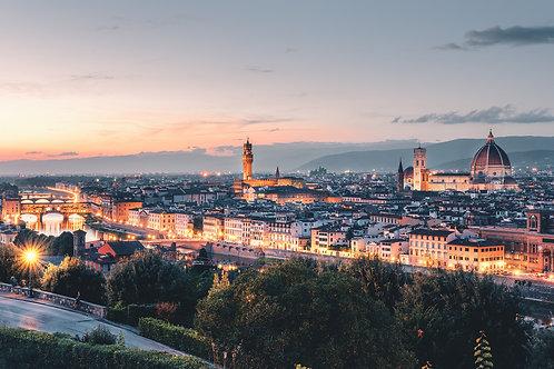 Europa - Stadtpanorama Florenz