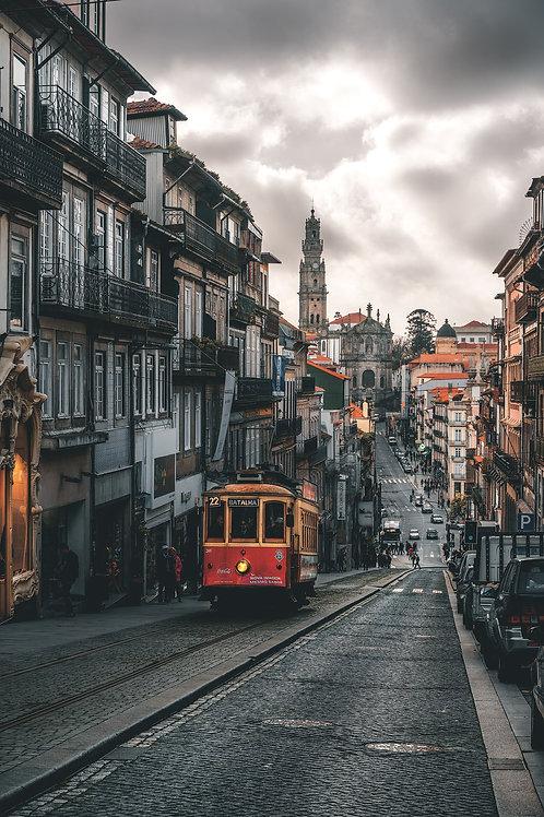 Europa - Straßen von Porto