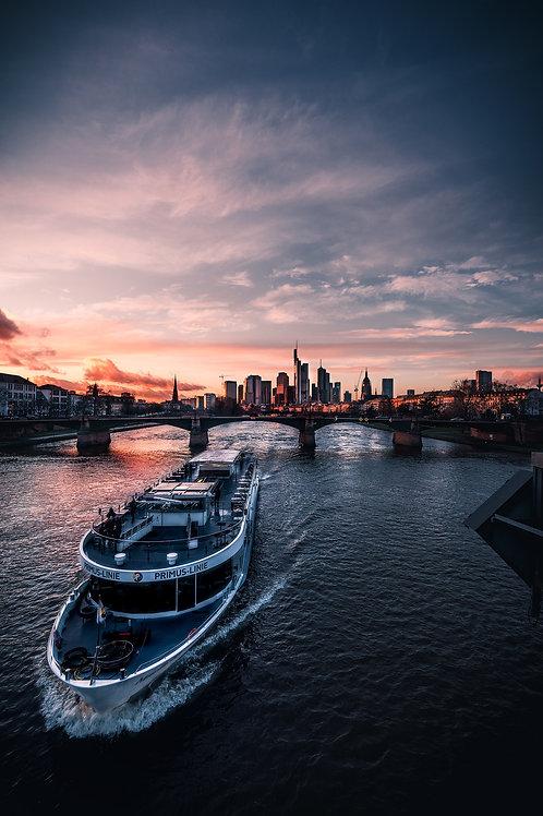 Deutschland - Frankfurter Skyline
