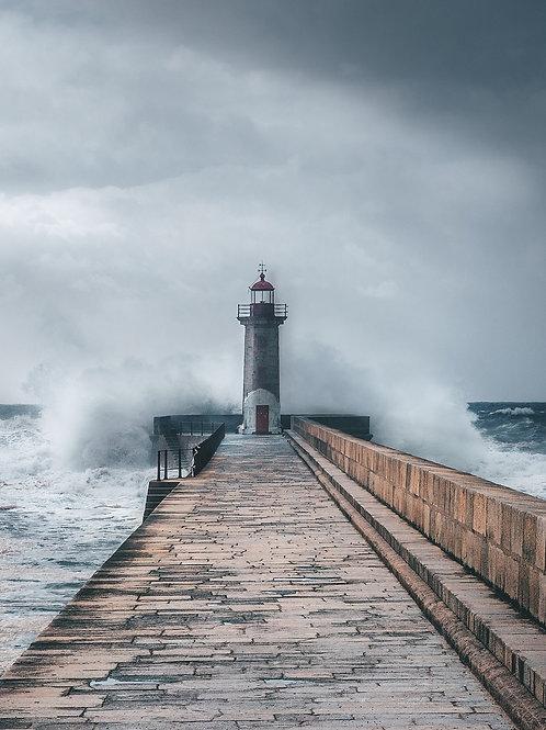 Europa - Leuchtturm in Porto