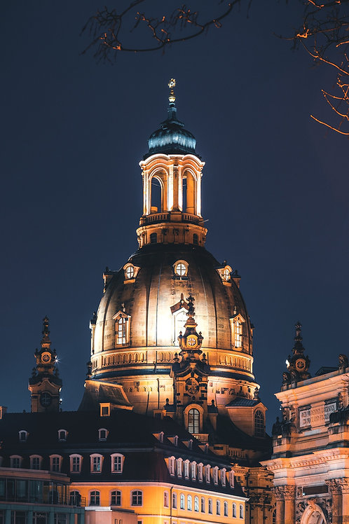 Deutschland - Kuppel der Frauenkirche