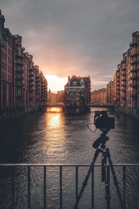 Hamburg - Wasserschloss BTS