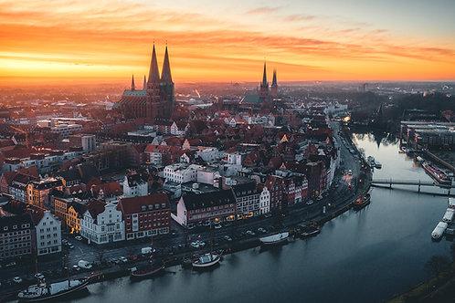 Deutschland - Altstadtinsel Lübeck