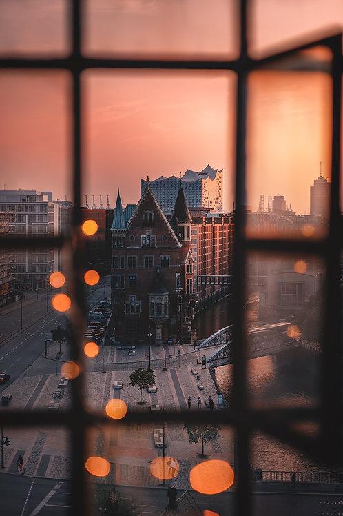 Hamburg - Fensterblick