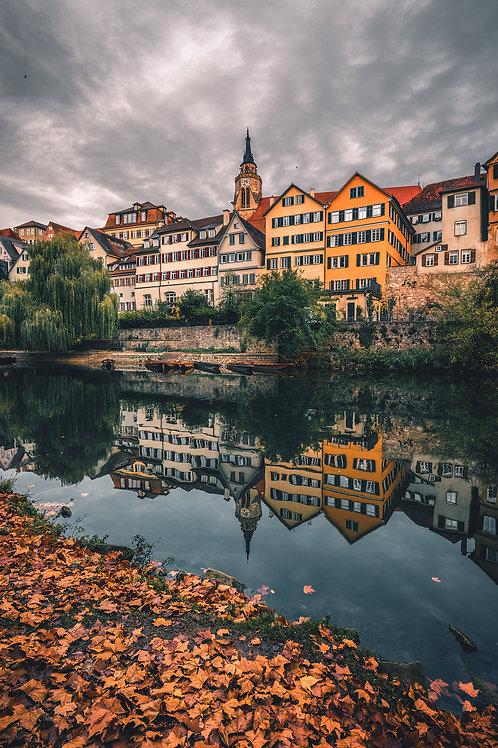 Deutschland - herbstliches Tübingen