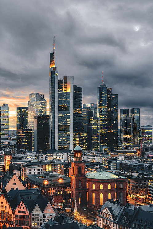 Deutschland - Frankfurter Skyline III