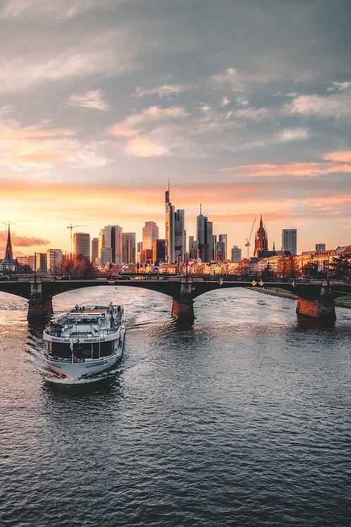 Deutschland - Frankfurter Skyline II