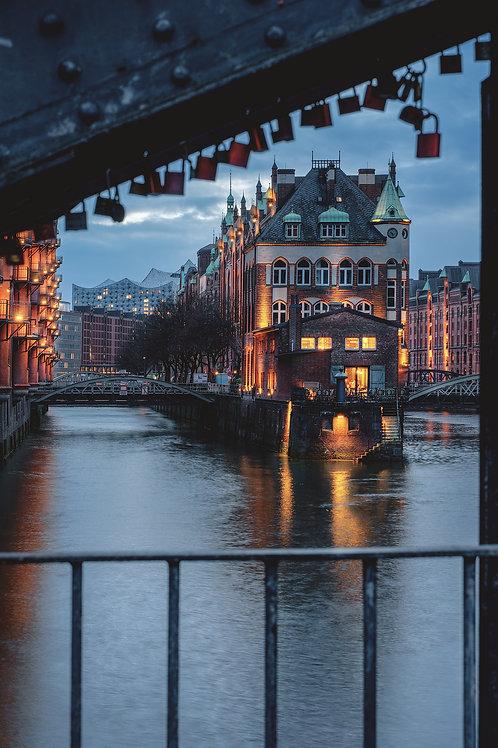 Hamburg - Liebesschlösser