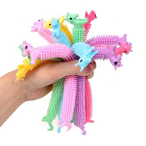 6 Stretchy String Unicorns