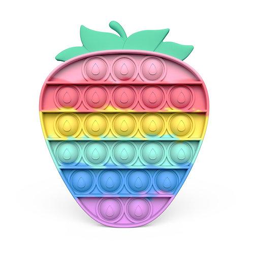 Strawberry Rainbow Pop It