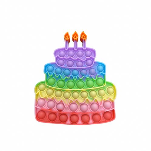 Birthday Cake Pop It