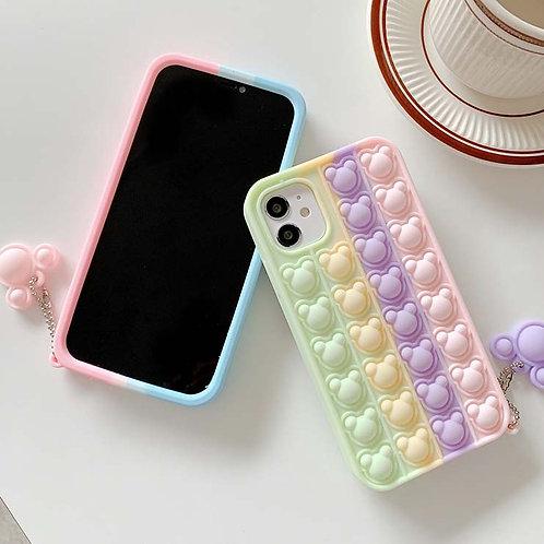 Bear Pop It Case for iPhone