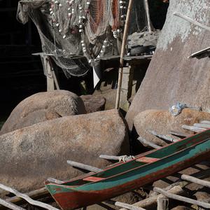 Baía da Ilha Grande – Palafitas caiçara na comunidade da Ponta da Juatinga