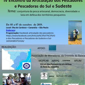 Encontro Ilha do Cardoso