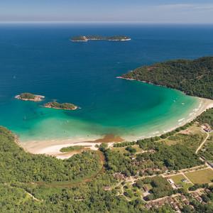 Baía da Ilha Grande – Parque Estadual da Ilha Grande - Praia de Dois Rios