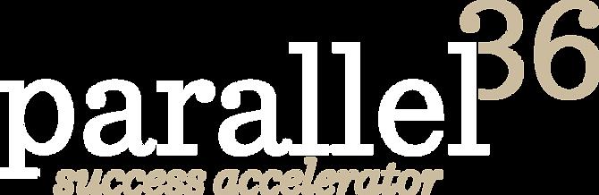 Parallel 36 logo para fondo oscuro 150pp