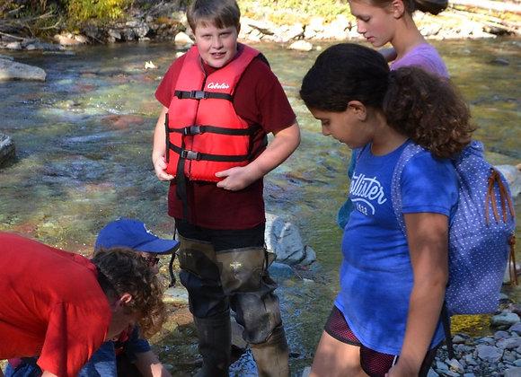 7th Grade:  Glacier Institute Science Camp (student)