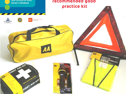 AA Driver Safety Kit with Fire Extinguisher
