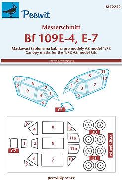 72252 Bf-109E-4 a 7 AZ model card.jpg