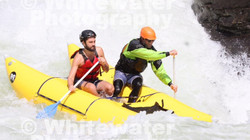 Ben and BD Rafting